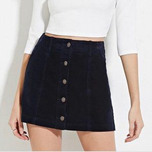 🛍3 for $25🛍 Forever 21 Button Front Jean Skirt
